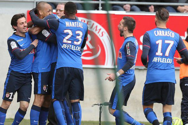 L'AS Monaco s'impose trois à 1 à Reims