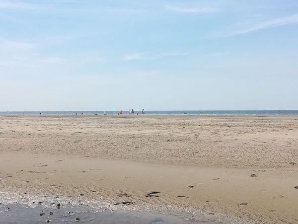 La plage du Touquet rouverte.