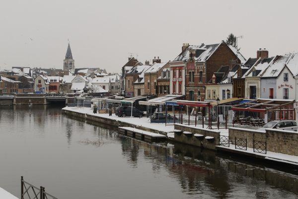 Le quartier Saint-Leu est tout blanc !