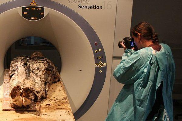 Louise De Quengo passée au scanner