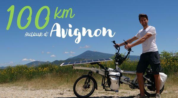 Un projet de balades dans un rayon de 100km autour d'Avignon