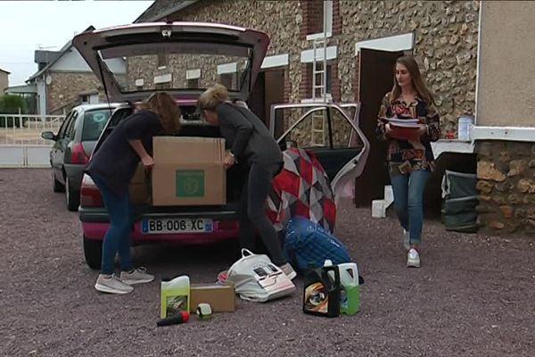 100 kg de fournitures scolaires seront distribués dans 4 pays de l'est de l'Europe