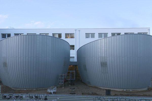 Le nouveau site de formations des professions sanitaires à Limoges, campus Vanteaux.