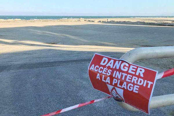 L'accès à la plage du Barcarès est interdit dans les Pyrénées-Orientales - 19 mars 2020