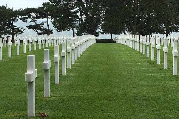 le cimetière américain de Colleville-sur-Mer (14)