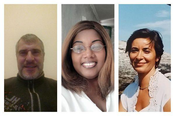 Vincent, Simone et Nadine, les 3 victimes de l'attentat de Notre-Dame à Nice du 29 octobre 2020