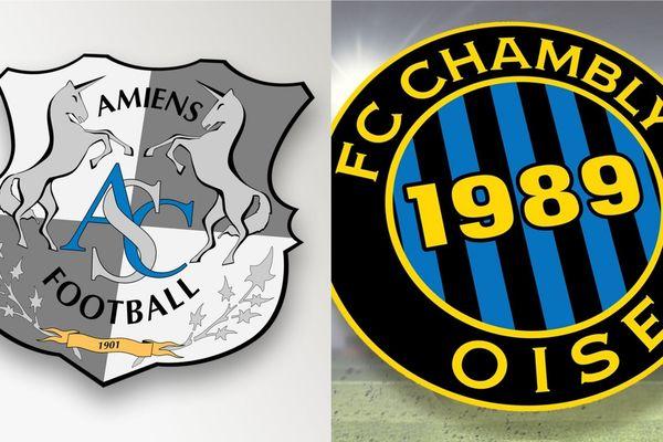 Les deux clubs picards ont disputé leur match amical à 16h30 vendredi 6 septembre au stade de la Licorne.