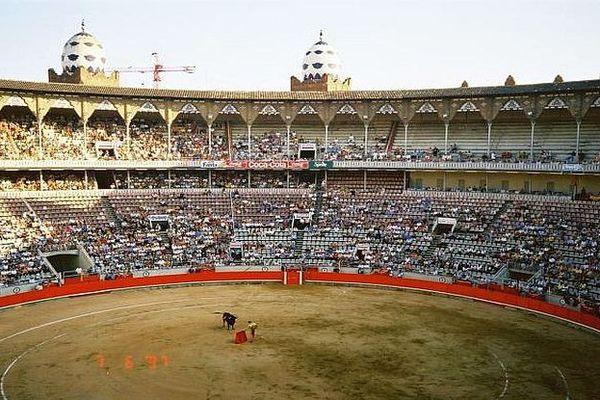 Barcelone - les arènes - archives