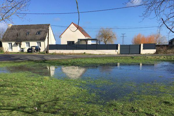 Hiver 2020, l'eau du bassin versant du Brivet arrive aux portes des habitations. Mais aucune personne ne sera évacuée.