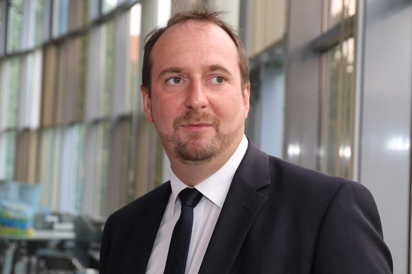 Christophe Arend, député LREM de la 6e circonscription de la Moselle.