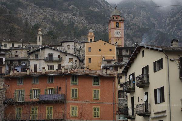 La commune de Tende (Alpes-Maritimes), dans la vallée de la Roya.