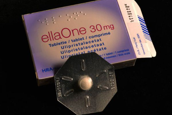 La ellaOne, l'une des pilules du lendemain disponibles à la vente en Angleterre.