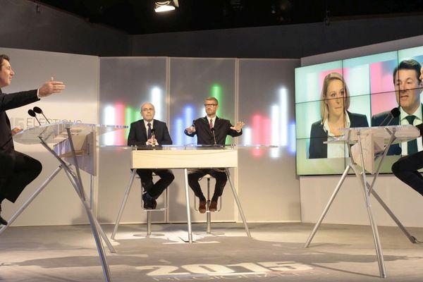 France 3 a organisé le seul débat de l'entre deux tours entre Christian Estrosi et Marion Maréchal-Le Pen