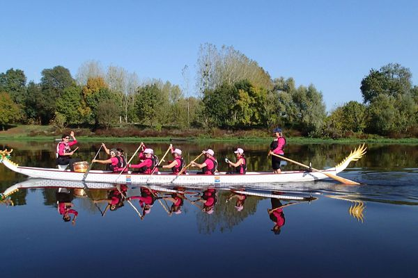 Les United Ladies navigueront sur la Loire, de Blois à Nantes, du 16 au 19 août 2018