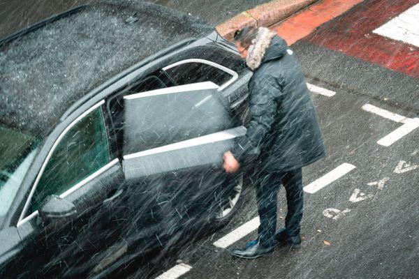 De la neige pour le réveillon du 31 décembre en Normandie ? (Photo d'illustration)