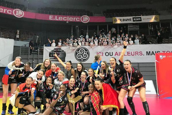 Les joueuses du BBH remportent le titre de championnes de France pour la deuxième fois de leur histoire