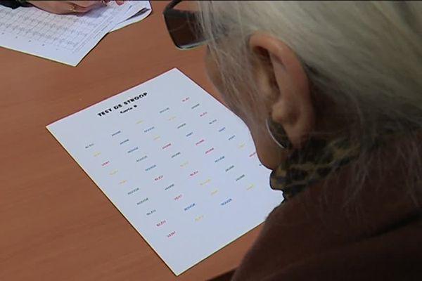 Jeanne, 89 ans, l'un des 2000 participants à l'étude sur le vieillissement du cerveau
