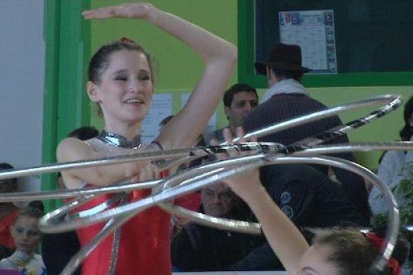 Quetigny accueillait ce weekend, des interrégions de GRS (gymnastique rythmique et sportive).