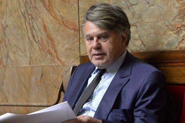 Gilbert Collard, député proche du FN.