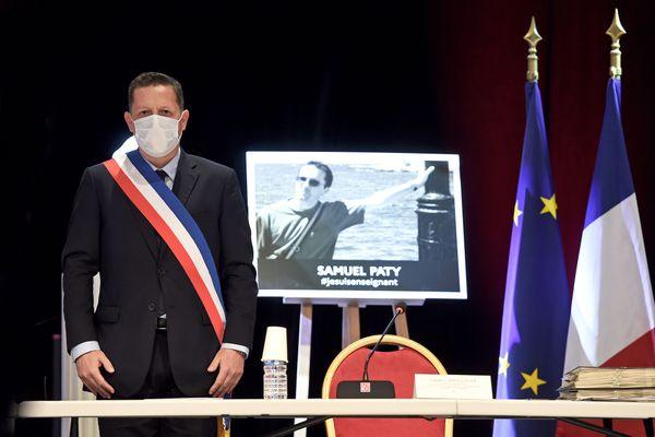 """""""On ne peut pas rester passif face à cette situation"""", a affirmé Frédéric Masquelier."""