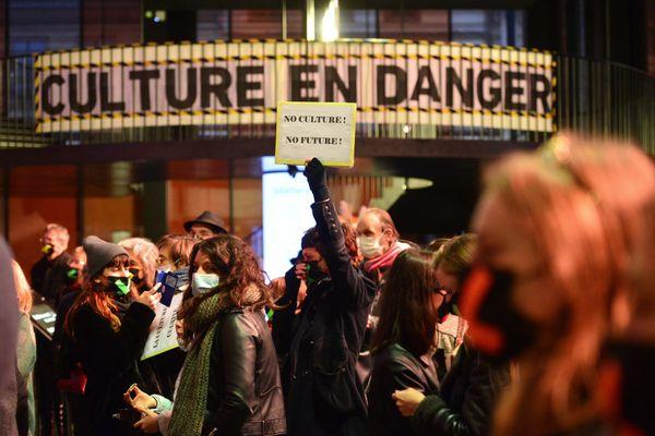 Les acteurs de la culture dénoncent les mesures gouvernementales suite à la crise sanitaire liées au Covid-19. (Photo d'archives)