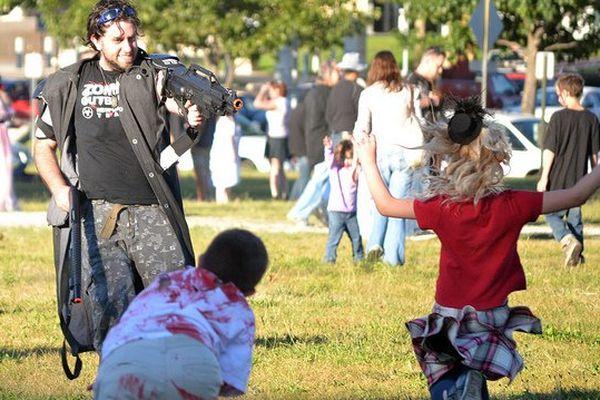 Zombie walk aux USA.