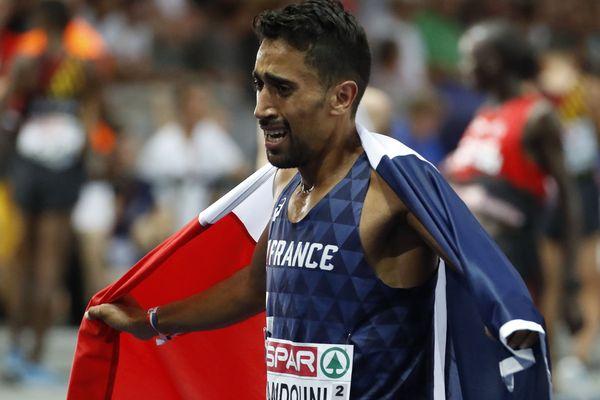 Morhad Amdouni est devenu champion d'Europe en course 10.000 mètres. Il est licencié dans un club de la Seine-et-Marne.