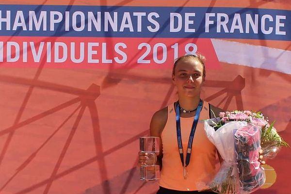 Alice Tubello, championne de France 2018