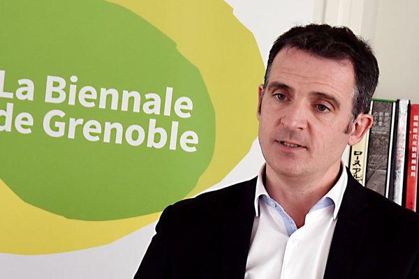 Eric Piolle le 26 janvier 2017 lors des voeux de la Ville de Grenoble.