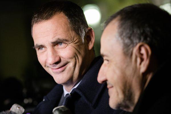 ILLUSTRATION / Pour Gilles Simeoni et Jean-Guy Talamoni, l'heure n'est plus vraiment aux sourires