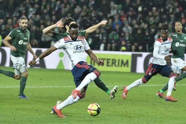 Moussa Dembele tir au but malgré le retour de SUBOTIC - 20/1/19