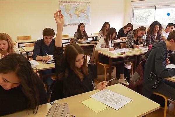 La sélection est rude : un candidat sur quatre intégrera la filière lettres supérieures du lycée Giocante de Bastia.