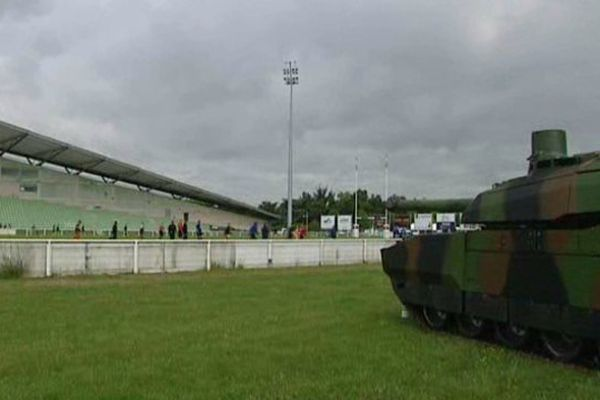 Le stade des Montées d'Orléans.