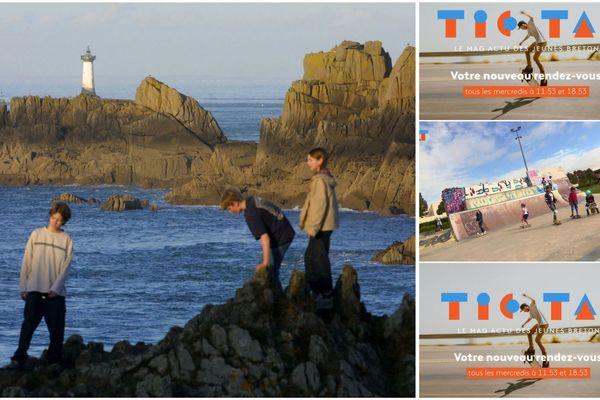 Journée mondiale de la mer : Tic Tak, l'actu des jeunes bretons