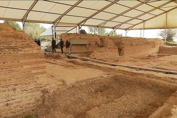 Les fouilles sur le site ont commencé il y a 15 ans