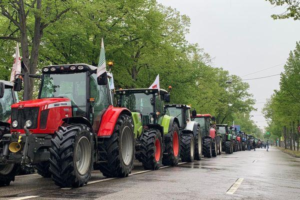 Des centaines de tracteurs dans les rues de la capitale européenne ce vendredi 30 octobre