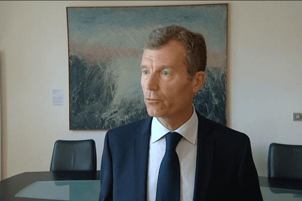 Christophe Mirmand, préfet d'Ille-et-Vilaine