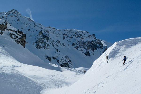 La Combe de la Neuva, en Haute Savoie