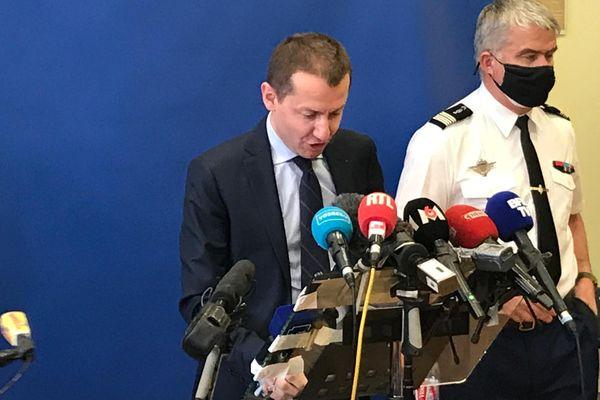 Le procureur de la République d'Epinal Nicolas Heitz a tenu une seconde conférence de presse vendredi 16 avril 202.