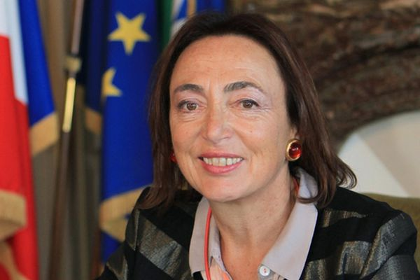 Marie-Claire Diouron, maire de Saint-Brieuc