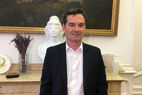 Thierry Lavit, dimanche 28 juin, à l'issue du second tour des élections municipales.