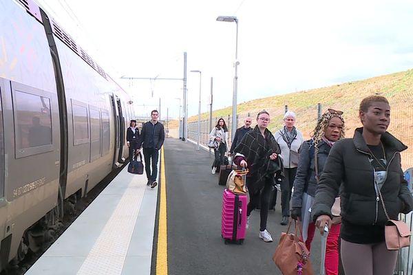 44 TER desservent la nouvelle gare de Nîmes/Manduel