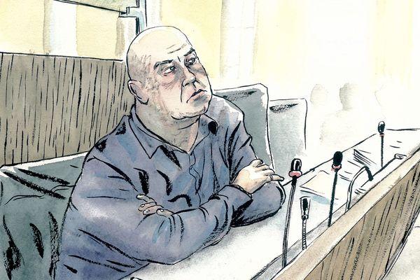 Willy Bardon lors de son procès dans l'affaire Kulik, le 26/11/2019