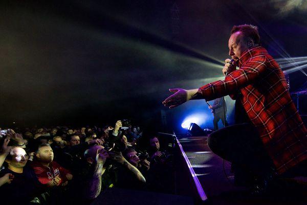 Simple Minds en concert à Douai, en février 2015