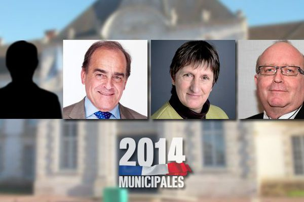 Franck RIVIERE (FRONT NATIONAL) [pas de photo reçue du candidat], Jean-Pierre BOUQUET (PARTI SOCIALISTE), Joëlle BASTIEN (LUTTE OUVRIERE), Pascal GREENHALGH (Union pour un Mouvement Populaire)