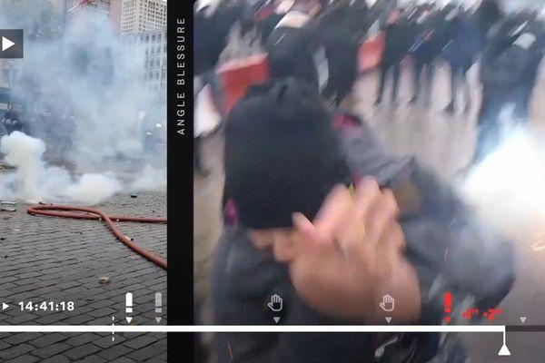 Capture d'écran de la vidéo du Monde.