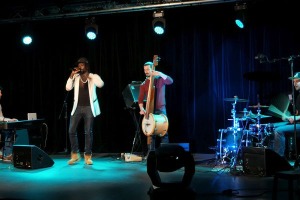 le groupe dijonnais de jazz-hop Oddloops