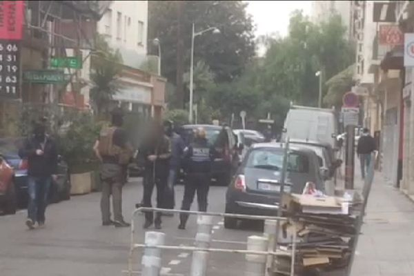 Opération anti-terroriste menée ce lundi 12 décembre dans le cadre de l'enquête sur l'attentat de Nice