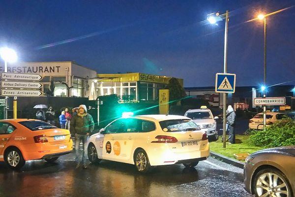 Le nouveau blocage des taxis