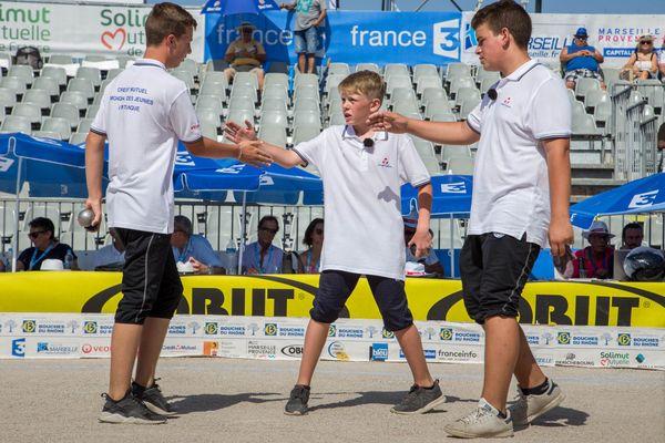 L'équipe Azéma remporte la finale des jeunes